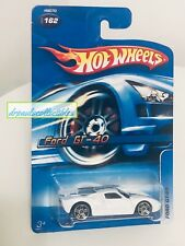 Hot Wheels FORD GT-40 White 2005 Brand New W/ Card Protector