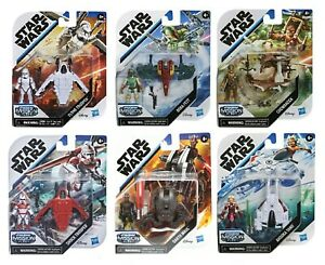 """Hasbro Star Wars Mission Fleet 2.75"""" Action Figures Set - Choose From 6 Missions"""