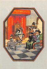 Chromos Blédine Blécao - l' ane de Louis XI