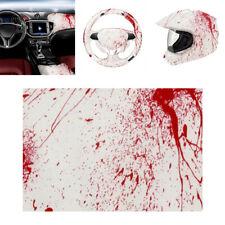 Blood Splatter Hydrographic Water Transfer Hydro Dip Hydrodipping Film 0.5*1M