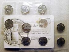 2017 Canada 125th Anniversary Stanley Cup 25 Cents Coins 10-Coin Pack (Full Set)