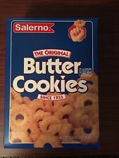 Salerno THE ORIGINAL BUTTER FLAVORED COOKIES 16 oz - 1 BOX - Free Shipping - NEW