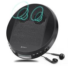 Discman Tragbarer Disc MP3 CD-Player mit Lautsprecher Anti-Schock AUX Kopfhörer