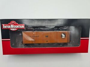 HO SCALE - NEW INTERMOUNTAIN #46051-09 - GN 40' PLYWOOD PANEL BOX CAR - RD#10231