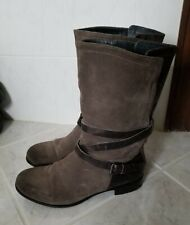 Womens Ugg Deanna Suede Leather Boots Size 8