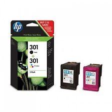 HP 301 Black & Colour Genuine Ink Cartridges Combo For ENVY 5530 Inkjet Printer
