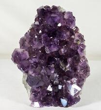 Amethyst Crystal Geode Cluster Quartz Specimen - Brazil