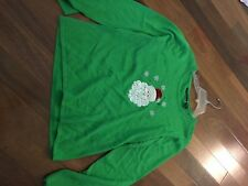 Ugly Tacky Christmas Party Sweater/ Size XL- Buy It Now