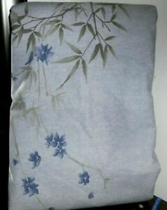Lovely Pre-owned CALVIN KLEIN BAMBOO FLOWERS KING Duvet Comforter Cover