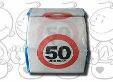 Toiletten-Papier 50 und sexy zum 50. Geburtstag