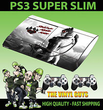 Playstation Ps3 Super Slim Catwoman Gotham Girl Skin Adhesivo + 2 X Pad Skins