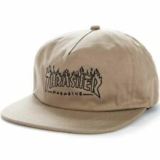 Thrasher Snapback Cap Witch Tan Skate Skateboard Free Next Day Delivery