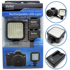 Camera Video LED Light Lamp Sony Alpha A7R A7 II A77II A55 A58 A65 A77 A550 DSLR