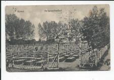 KOWEL >> Soldatenfriedhof  << alte s/w AK kleinf. 1917 , Feldpost