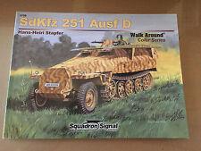 SQUADRON SIGNAL PUBLICATION 5709 - WALK AROUND COLOR SdKfz 251 Ausf D