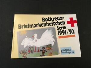 GERMANY BOOKLET 1991 RED CROSS CROIX ROUGE ROTES KREUZ WAR STORK  h4951