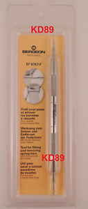 6767F Bergeon Tool for fitting removing spring-bars With fine points and forks