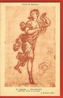 FRAGONARD- Peintre- Pinxit - 1732/1806- Rococo- Néo Classique - Danseuse