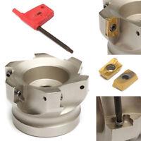 BAP 400R-80-27-6F indexable face milling cutter 6Flute FOR APMT1604PDER
