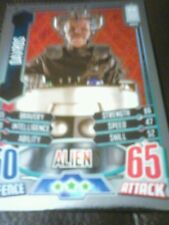 Dr who alien attax 50 th anniversary foil card number 19 Davros