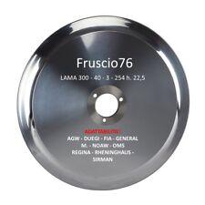 LAMA ACCIAIO AFFETTATRICE mm 300  30 cm - LAMA 300 - 40 - 3 - 254 h. 22,5 - NOAW