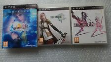 Final Fantasy X / X-2 HD Limited Edition PS3,Final Fantasy XIII-2 PS3 & XIII PS3