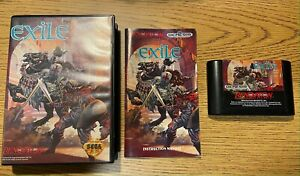 Exile Sega Genesis Complete CIB - Tested - Good condition - US Seller