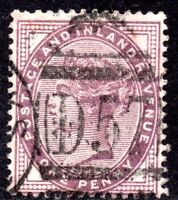 1881 SG 172 ½d lilac with D57 Bute Docks/ Cardiff Duplex Cancellation