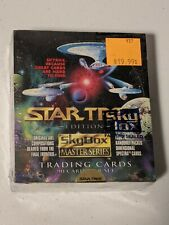 Star Trek Master Series 1 Trading Card  Sealed Box of 36 Packs from Skybox