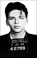 Frank Sinatra Poster 11X17 Mug Shot Arrested For Seduction 1938 New Jersey