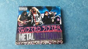 Twisted Sister / Metal Meltdown / Live from Las Vegas / CD + DVD + Blu-ray