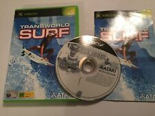 ORIGINAL XBOX ATARI SURFING GAME TRANSWORLD SURF +BOX +INSTRUCTIONS COMPLETE PAL