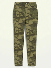 Old Navy NEW WITH TAG WOMEN'S HIGH-WAISTED PATTERNED PIXIE ANKLE PANTS - Size 6