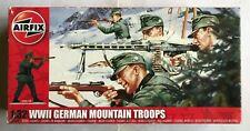 AIRFIX 1/32 A04713 WWII GERMAN MOUNTAIN TROOPS Infanterie Alpine Allemande Neuve