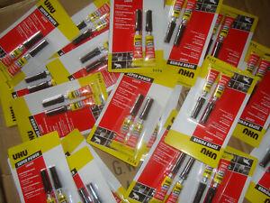 42 Pack UHU Sekundenkleber je 2x3g Klebstoff Markthändler Posten Lagerauflösung.