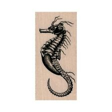 New Seahorse Rubber Stamp, Sea Horse Stamp, Ocean Stamp, Sea Stamp, Beach Stamp