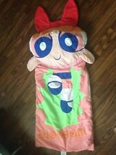 VTG Powerpuff Girls Sleeping Bag Cartoon Network