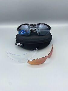 Tifosi Ventus Gloss Black Interchangeable Cycling Glasses RRP £35 BNIB