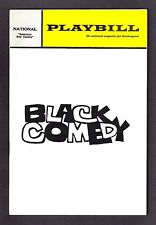 "Jeremy Clyde ""BLACK COMEDY"" Tennessee Williams '68 Washington Playbill and Flyer"