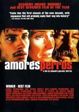 Amores Perros (Dvd, 2001) Alejandro González Iñárritu - Gael García Bernal