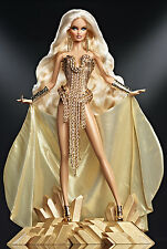 GORGEOUS 2013 ** THE BLONDS BLOND GOLD **BARBIE - GOLD LABEL*NRFB