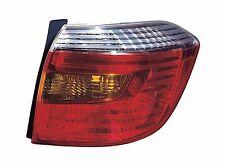 New Toyota Highlander Sport model 2008 2009 2010 tail light right passenger