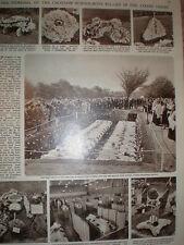 Photo article Funeral Lanfranc School Croydon boys Norway aircrash 1961