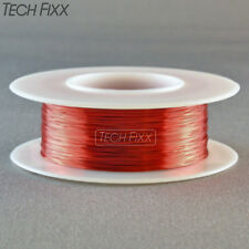 Magnet Wire 31 Gauge AWG Enameled Copper 495 Feet Coil Winding and Crafts Red