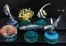 lot of 6 Kaiyodo Aquatales Pacific Fish Figure #A1