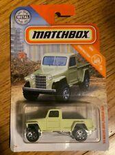 2019 Matchbox 1951 Willys Jeep Pickup Truck