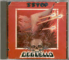 "ZZ TOP ""DEGUELLO"" NO CODICE A BARRE MADE IN WEST GERMANY CD incl. CHEAP SUNGLASSES"