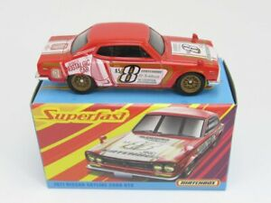 Matchbox 1971 NISSAN SKYLINE 2000 GTX MIB COMBINED POSTAGE 10 ITEMS FOR $15