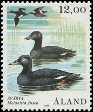 Finland Aland Islands 1987 Sc 21 Bird Scoter CV $8