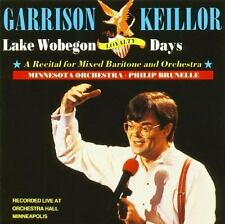 Lake Wobegon Loyalty Days : A Recital for Mixed Baritone and Orchestra by